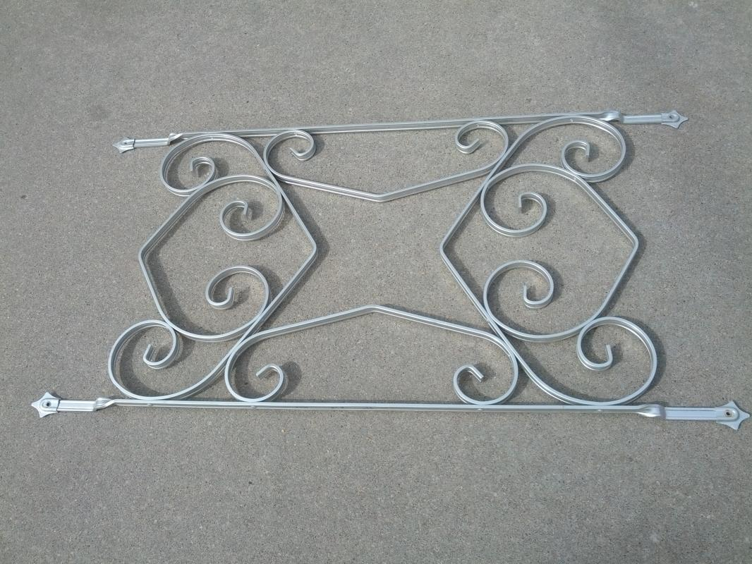 aluminum storm door decorative panel retro window cover decoration