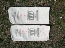 winchester olin american standard super shot lead pellet cotton bag sales sack shotgun shell reloading collectible