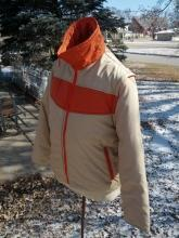 ski dude snow sport sking coat winter vest zip off style sleeves retro outdoor apparel