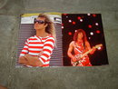 VAN HALEN ROCK ROLL HEAVY METAL BOOK CONCERT PHOTO BOOKLET
