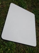 white porcelain  black edge enamelware kitchen cabinet top granite enamel coated steel cutting board