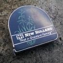 New Holland Farm Machinery Tape Measure Lufkin USA Measuring Tool Ranch Equipment Advertising 1970's Customer Gift