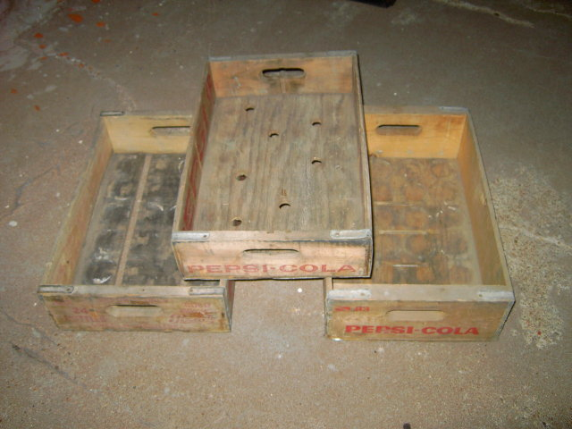 PEPSI COLA CRATE WOODEN SODA POP CARRY CASE BOX LINCOLN NEBRASKA TEMPLE DALLAS TEXAS GACO TUFBILT