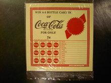 COKE COCA COLA SODA POP PUNCH CARD GAME