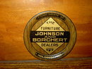 JOHNSON BORCHERT HOLDREGE NEBRASKA TIP TRAY COASTER