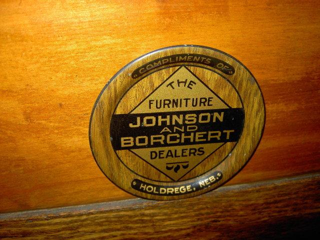 JOHNSON BORCHERT HOLDREGE NEBRASKA TIP TRAY COASTER