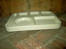 MELMAC SCHOOL LUNCHROOM CAFETERIA DINER TRAY STACKING MELAMINE PLATTER KING LINE NEMIR WASHINGTON DC