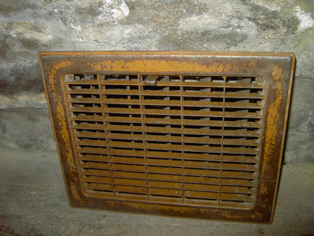 FURNACE HEATER VENT COVER GRATE AIR VENT DUCT DOOR