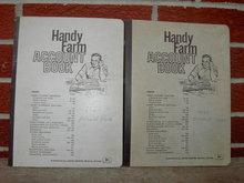 JOHN DEERE MOLINE ILLINOIS FARM ACCOUNT BOOK 1960S RANCH LEDGER BOOKLETS