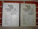 JOHN DEERE MOLINE ILLINOIS FARM ACCOUNT BOOK 1960S RANCH LEDGER BOOKLETS