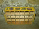 PEPSI COLA CRATE SODA POP TOTE CASE LINCOLN NEBRASKA TOWN STAMP