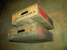 HOT SPRINGS LITTLE ROCK ARKANSAS PEPSI COLA CRATE POP BOTTLE TOTE BOX