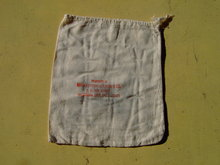 OKLAHOMA CITY MID CONTINENT NEWS BAG COTTON NEWSPAPER SACK