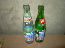 LAKE CRYSTAL MINNESOTA FARMFEST DR PEPPER SEVEN UP BOTTLES AMERICA BICENTENIAL CELEBRATION