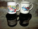 NASCAR MUG CAR AUTO RACING RICHARD PETTY STEVIE REEVES ERNIE IRVIN BRICKYARD 400 INDIANAPOLIS INDIANA INAUGURAL RACE