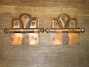 ART DECO DOOR HINGE  HOME HOUSE RENOVATION RESTORATION HARDWARE