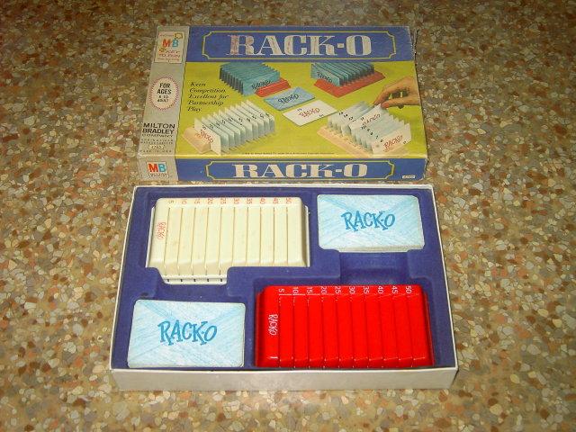 RACK O MILTON BRADLEY CARD GAME