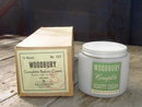 WOODBURY BEAUTY CREAM JAR ORIGINAL FACTORY BOX CINCINNATI OHIO