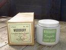 WOODBURY BEAUTY CREAM JAR ORIGINAL FACTORY BOX CINCINNATI OHIO