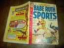 BABE RUTH SPORTS COMIC BOOK HARVEY ENTERPRISES BROADWAY NEW YORK ST LOUIS MISSOURI 1949 JUNE