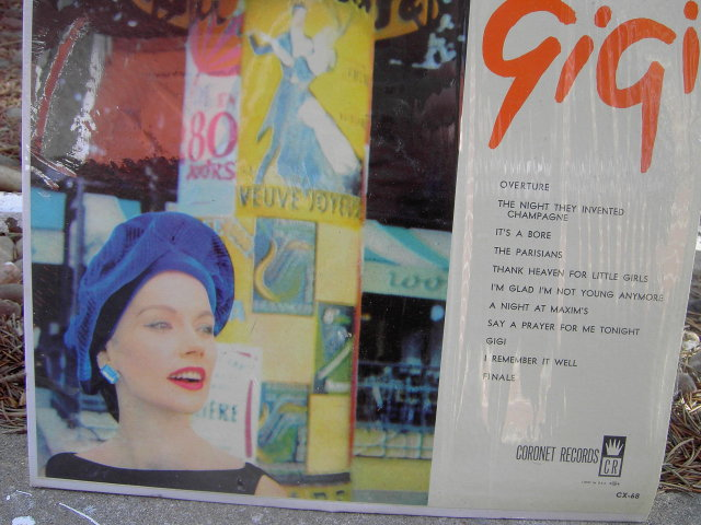 GIGI BROADWAY MUSICAL RECORDING VINYL RECORD ALBUM CORONET 1960'S