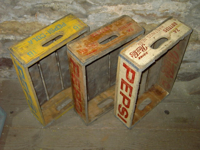 PEPSI COLA PLANT TOTE SODA POP CRATE CASE OTTAWA KANSAS HASTINGS NEBRASKA JAYHAWK BEVERAGES WOODSTOCK SOUTH CAROLINA