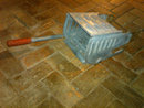 GALVINIZED STEEL WRINGER MOP BUCKET PRESS TOOL CUSTODIAN CLEANING UTENSIL