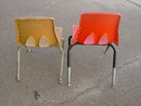 CHILDS RETRO CHAIR SCHOOL SEATS CARTER CRAFT PLANO TEXAS