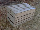 CHICKEN EGG CRATE WOODEN FRUIT PRODUCE BOX BIRD TRANSPORT TOTE
