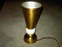 CONE BALL LAMP RETRO LIGHT FIXTURE FLOOR LITE