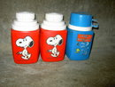 PEANUTS SNOOPY WOODSTOCK THERMOS BOTTLE KING SEELEY LUNCH BOX ACCESSORY