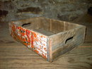 LINCOLN NEBRASKA PEPSI COLA CRATE SOFT DRINK BEVERAGE BOTTLE TOTE WOODEN BOX