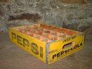 LINCOLN NEBRASKA PEPSI COLA CRATE SOFT DRINK BOTTLE TOTE BOX