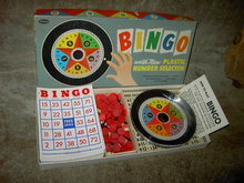 WHITMAN BINGO SET RACINE WISCONSIN