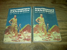 SCOUTMASTER HANDBOOK BOY SCOUT TROOP MANUAL GUIDE BOOK NORMAN ROCKWELL COVER