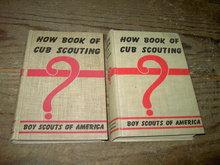 BOY SCOUTS OF AMERICA CUB SCOUTING HARDBACK BOOK