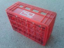 Pop Shoppe Soda Pop Bottle Tote Crate Plastic Box