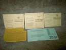BOY SCOUTS OF AMERICA PATROL DUES ENVELOPE EAGLE LIFE SCOUT SCOREBOARD TENDERFOOT SCORE SHEET