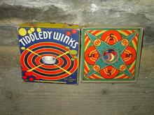 TIDDLEDY WINKS TRANSOGRAM NEW YORK 1937 GAME PASTIME