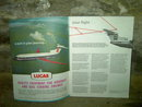 BRITISH EUROPEAN AIRWAYS AIRLINE SAFETY BOOKLET COMMERCIAL AVIATION PASSENGER FLIGHT GUIDE