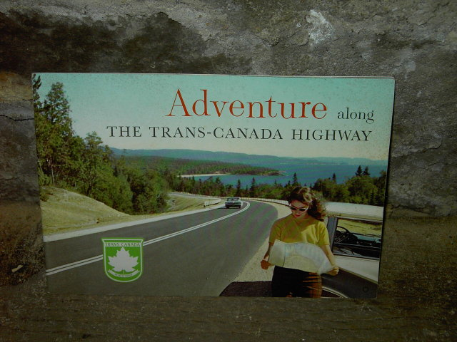 TRANS CANADA HIGHWAY TOURIST BOOKLET TRAVEL TOURISM GUIDE PUBLICATION