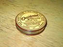 OMAHA NEBRASKA OCCIDENTAL BUILDING LOAN ADVERTISING COIN BANK SAVINGS CASE 1917 1926 CHICAGO ILLINOIS PATENT DATE