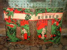 ROMANCE OF RUBBER CHILDRENS STORY BOOK UNITED STATES RUBBER COMPANY SCIENTIFIC HISTORY BOOKLET CHILDRENS PUBLICATION