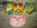 HALLOWEEN MASK COSTUME TOP MASQUERADE PIG DISGUISE
