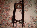 ASHTRAY RACK WOODEN SMOKING TRAY STAND
