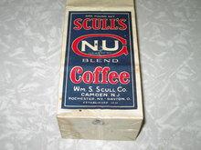 SCULL'S COFFEE BEAN BAG CAMDEN NEW JERSEY SCULL COMPANY ROCHESTER NEW YORK DAYTON OHIO