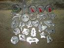 CHRISTMAS COOKIE CUTTER DOUGHNUT BISQUIT PRESS COOKY MAKING UTENSIL FIGURAL FORMS