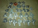 CHRISTMAS COOKIE CUTTER PASTRY COOKY MAKER UTENSIL FIGURAL DOUGH PRESS SET