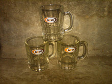 CHILDS MUG A & W ROOT BEER FAST FOOD COLLECTIBLE GLASS TABLEWARE