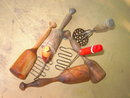 POTATO MASHER COOKING BAKING UTENSIL PRIMITIVE HOUSEHOLD TOOL